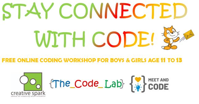 Free Coding Event for boys and Girls Age 11 to 13