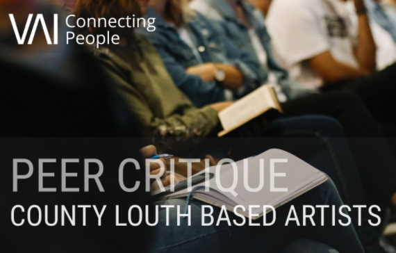 Peer critique with Laura McCaffery (Co. Louth based artists only)