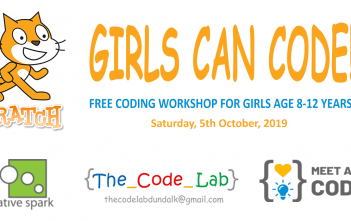 Free Coding Workshop For Girls (8-12 years) 5 October 2019