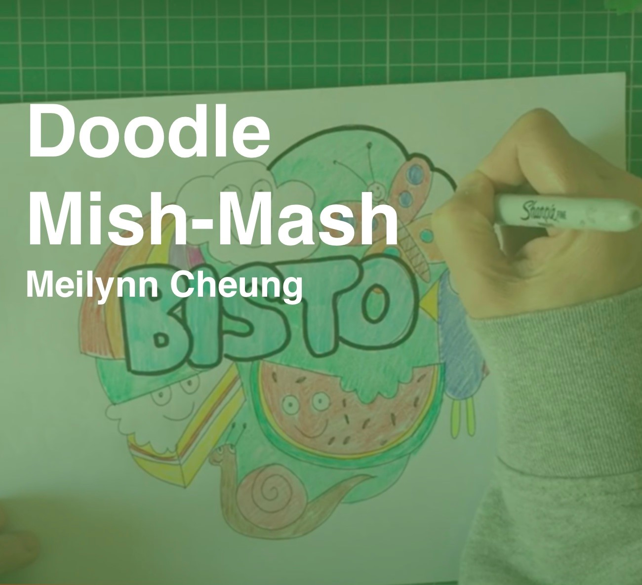 Friday Art Class - Doodle Mish Mash